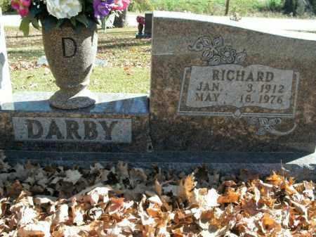 DARBY, RICHARD - Boone County, Arkansas | RICHARD DARBY - Arkansas Gravestone Photos