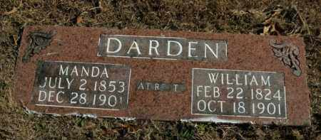 DARDEN, WILLIAM - Boone County, Arkansas | WILLIAM DARDEN - Arkansas Gravestone Photos