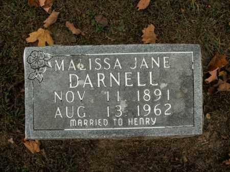 DARNELL, MALISSA JANE - Boone County, Arkansas   MALISSA JANE DARNELL - Arkansas Gravestone Photos