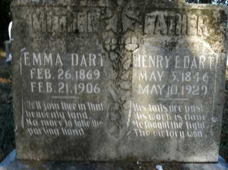 DART, EMMA - Boone County, Arkansas | EMMA DART - Arkansas Gravestone Photos