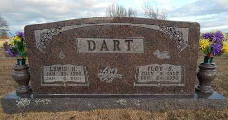 MOUNT DART, FLOY S. - Boone County, Arkansas | FLOY S. MOUNT DART - Arkansas Gravestone Photos