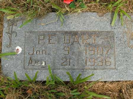 DART, P.E. - Boone County, Arkansas | P.E. DART - Arkansas Gravestone Photos