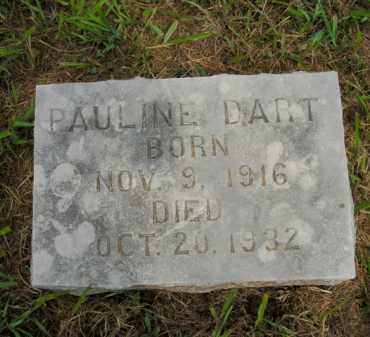 DART, PAULINE - Boone County, Arkansas | PAULINE DART - Arkansas Gravestone Photos
