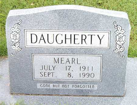 DAUGHERTY, MEARL - Boone County, Arkansas | MEARL DAUGHERTY - Arkansas Gravestone Photos