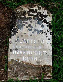 DAVENPORT, GLADYS O. - Boone County, Arkansas | GLADYS O. DAVENPORT - Arkansas Gravestone Photos