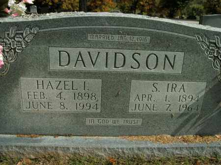 DAVIDSON, S. IRA - Boone County, Arkansas | S. IRA DAVIDSON - Arkansas Gravestone Photos