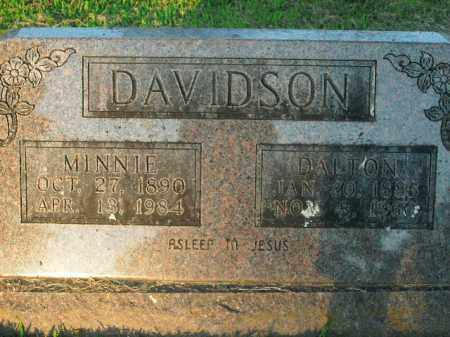 DAVIDSON, MINNIE - Boone County, Arkansas | MINNIE DAVIDSON - Arkansas Gravestone Photos