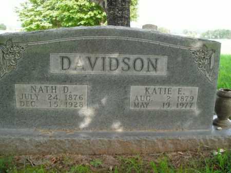 DAVIDSON, NATH D. - Boone County, Arkansas | NATH D. DAVIDSON - Arkansas Gravestone Photos