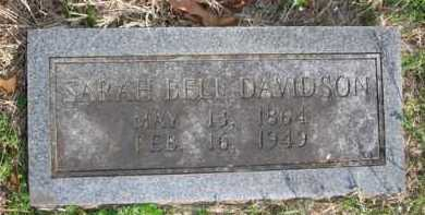 DAVIDSON, SARAH BELL - Boone County, Arkansas | SARAH BELL DAVIDSON - Arkansas Gravestone Photos