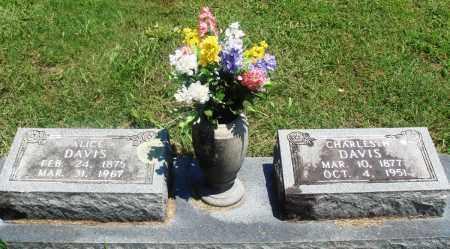 DAVIS, CHARLES H - Boone County, Arkansas | CHARLES H DAVIS - Arkansas Gravestone Photos