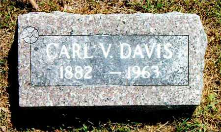 DAVIS, CARL  V. - Boone County, Arkansas | CARL  V. DAVIS - Arkansas Gravestone Photos