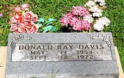 DAVIS, DONALD RAY - Boone County, Arkansas | DONALD RAY DAVIS - Arkansas Gravestone Photos