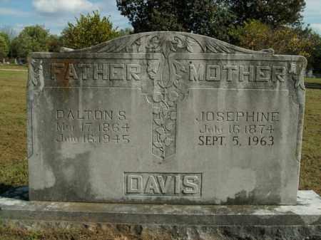 DAVIS, DALTON S. - Boone County, Arkansas | DALTON S. DAVIS - Arkansas Gravestone Photos