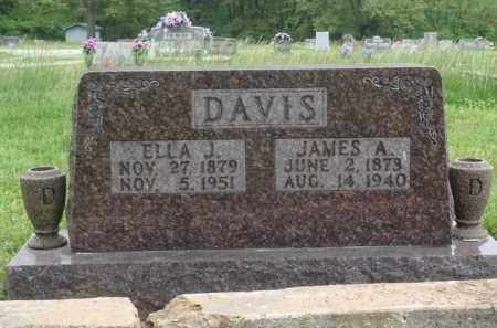DAVIS, ELLA J. - Boone County, Arkansas | ELLA J. DAVIS - Arkansas Gravestone Photos