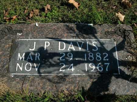 DAVIS, J.P. - Boone County, Arkansas | J.P. DAVIS - Arkansas Gravestone Photos