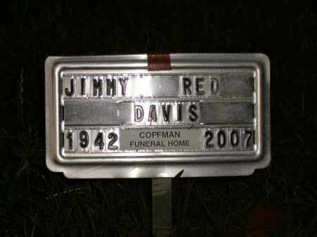 DAVIS, JIMMY RED - Boone County, Arkansas | JIMMY RED DAVIS - Arkansas Gravestone Photos