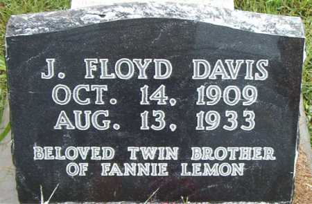 DAVIS, J.     FLOYD - Boone County, Arkansas | J.     FLOYD DAVIS - Arkansas Gravestone Photos