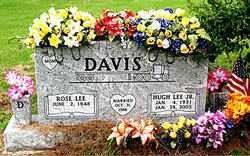 DAVIS JR, HUGH LEE - Boone County, Arkansas | HUGH LEE DAVIS JR - Arkansas Gravestone Photos