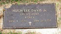 DAVIS, JR  (VETERAN KOR), HUGH LEE - Boone County, Arkansas | HUGH LEE DAVIS, JR  (VETERAN KOR) - Arkansas Gravestone Photos