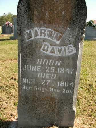 DAVIS, MARTIN - Boone County, Arkansas | MARTIN DAVIS - Arkansas Gravestone Photos