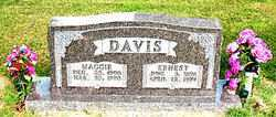 DAVIS, MAGGIE - Boone County, Arkansas | MAGGIE DAVIS - Arkansas Gravestone Photos