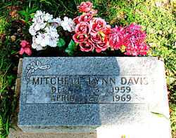 DAVIS, MITCHELL LYNN - Boone County, Arkansas | MITCHELL LYNN DAVIS - Arkansas Gravestone Photos