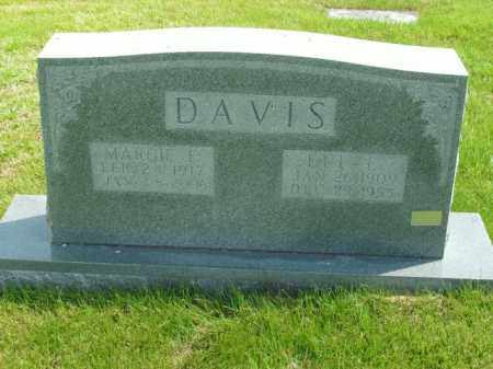 DAVIS, ELL E. - Boone County, Arkansas | ELL E. DAVIS - Arkansas Gravestone Photos