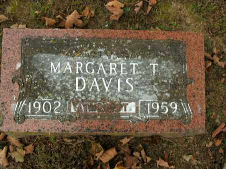 DAVIS, MARGARET T. - Boone County, Arkansas | MARGARET T. DAVIS - Arkansas Gravestone Photos