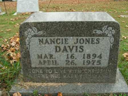 JONES DAVIS, NANCIE - Boone County, Arkansas | NANCIE JONES DAVIS - Arkansas Gravestone Photos