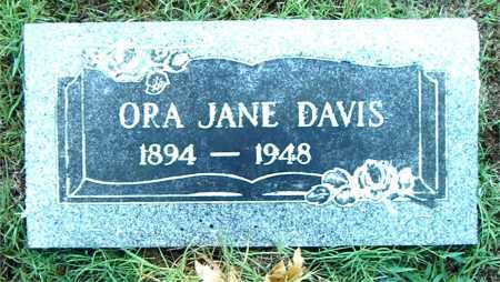 DAVIS, ORA JANE - Boone County, Arkansas | ORA JANE DAVIS - Arkansas Gravestone Photos