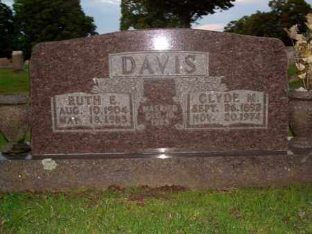 DAVIS, RUTH E. - Boone County, Arkansas | RUTH E. DAVIS - Arkansas Gravestone Photos
