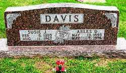 DAVIS, SUSIE J. - Boone County, Arkansas | SUSIE J. DAVIS - Arkansas Gravestone Photos