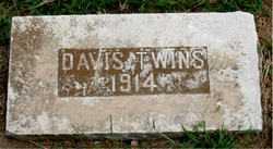 DAVIS, TWINS - Boone County, Arkansas | TWINS DAVIS - Arkansas Gravestone Photos