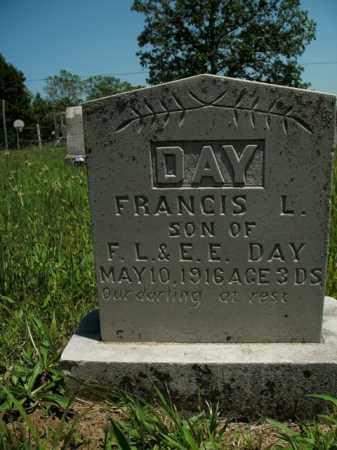 DAY, FRANCIS L. - Boone County, Arkansas | FRANCIS L. DAY - Arkansas Gravestone Photos