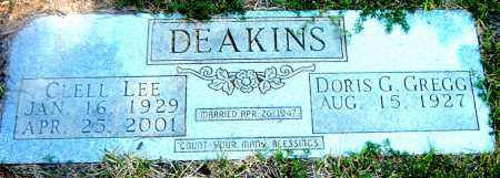 DEAKINS, CLELL LEE - Boone County, Arkansas | CLELL LEE DEAKINS - Arkansas Gravestone Photos
