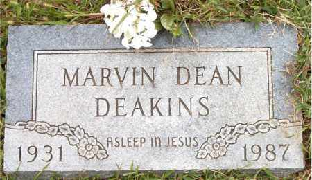 DEAKINS, MARVIN DEAN - Boone County, Arkansas | MARVIN DEAN DEAKINS - Arkansas Gravestone Photos