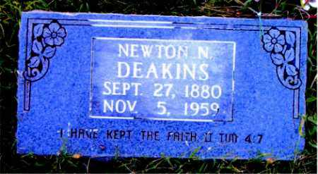 DEAKINS, NEWTON  N. - Boone County, Arkansas   NEWTON  N. DEAKINS - Arkansas Gravestone Photos