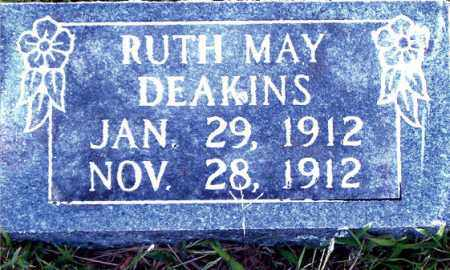 DEAKINS, RUTH MAY - Boone County, Arkansas | RUTH MAY DEAKINS - Arkansas Gravestone Photos