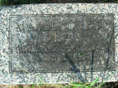 DEAN, MABEL FOREST - Boone County, Arkansas | MABEL FOREST DEAN - Arkansas Gravestone Photos