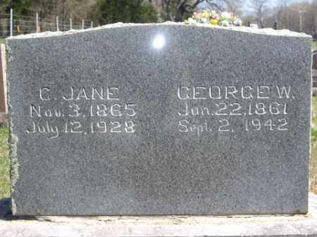 DEARING, C. JANE - Boone County, Arkansas | C. JANE DEARING - Arkansas Gravestone Photos