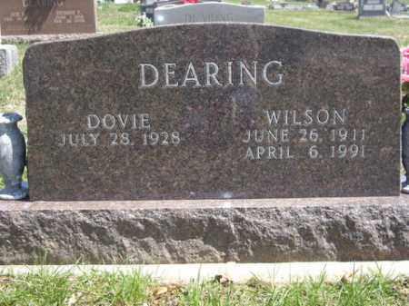 DEARING, WILSON - Boone County, Arkansas | WILSON DEARING - Arkansas Gravestone Photos