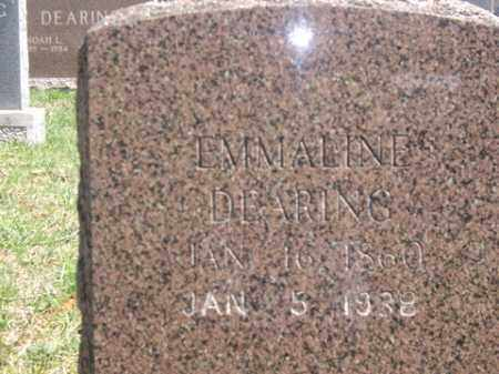 DEARING, EMMALINE - Boone County, Arkansas | EMMALINE DEARING - Arkansas Gravestone Photos
