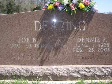 DEARING, DENNIE F. - Boone County, Arkansas | DENNIE F. DEARING - Arkansas Gravestone Photos