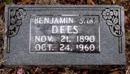 DEES, BENJAMIN SAM - Boone County, Arkansas | BENJAMIN SAM DEES - Arkansas Gravestone Photos
