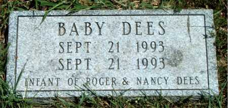 DEES, BABY - Boone County, Arkansas | BABY DEES - Arkansas Gravestone Photos