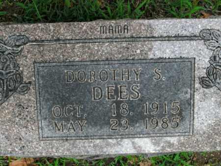 DEES, DOROTHY S. - Boone County, Arkansas | DOROTHY S. DEES - Arkansas Gravestone Photos