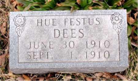 DEES, HUE FESTUS - Boone County, Arkansas | HUE FESTUS DEES - Arkansas Gravestone Photos