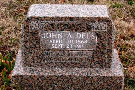 DEES, JOHN A. - Boone County, Arkansas | JOHN A. DEES - Arkansas Gravestone Photos