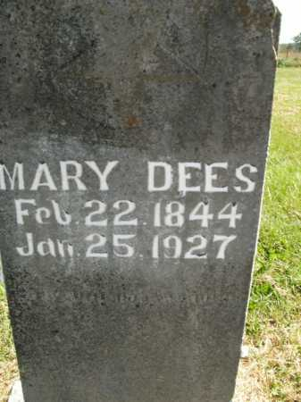 DEES, MARY - Boone County, Arkansas | MARY DEES - Arkansas Gravestone Photos