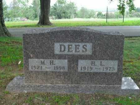 DEES, M.H. - Boone County, Arkansas | M.H. DEES - Arkansas Gravestone Photos